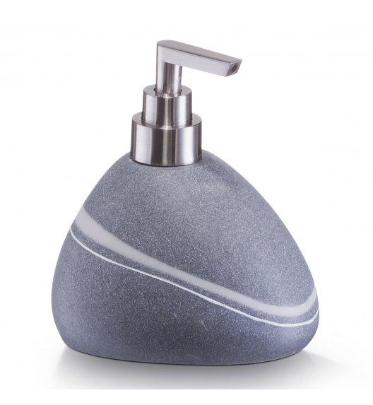 ZELLER POLY Dozownik do mydła w płynie 13 cm szary / tworzywo sztuczne