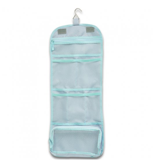 ZELLER Organizer / kosmetyczka podróżna do walizki 26 x 64,5 cm / szary / tkanina poliestrowa