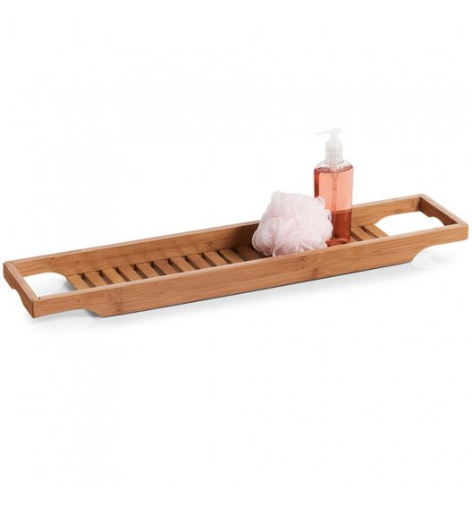ZELLER Półka na wannę 70x14 cm / drewno bambusowe
