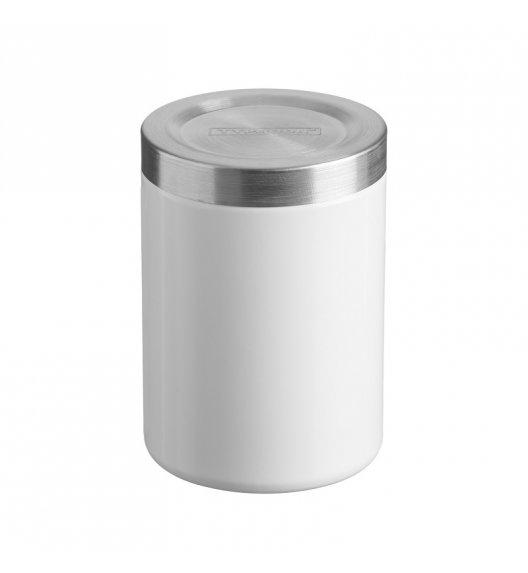 WYPRZEDAŻ! TYPHOON HUDSON Stalowy pojemnik na produkty sypkie 1 l / biały / Btrzy
