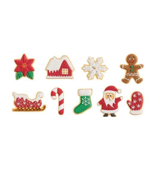 TESCOMA DELICIA Foremki bożonarodzeniowe do wykrawania 9 szt / tworzywo sztuczne