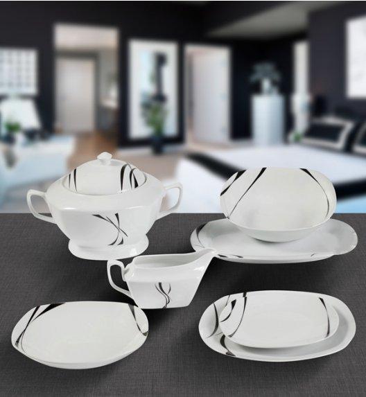 TADAR SAXO Serwis obiadowy 43 el / 12 osób / ceramika