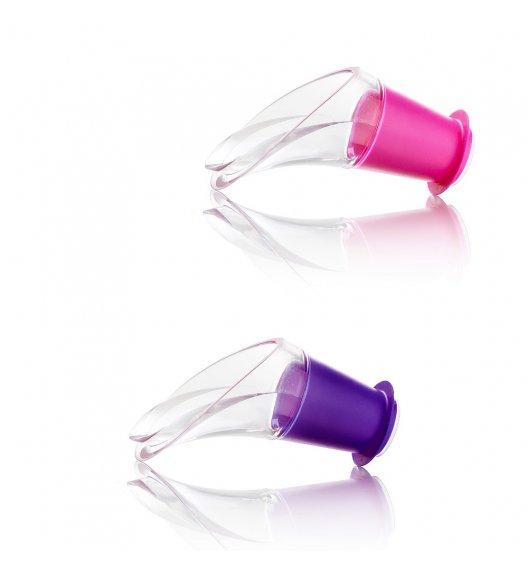 VACU VIN Komplet nalewaki do wina Crystal Color 2 szt./ tworzywo sztuczne / LENA