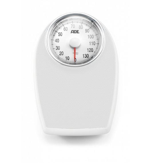 ADE VICTORIA Mechaniczna waga łazienkowa 28,5 x 43 cm / biała / FreeForm