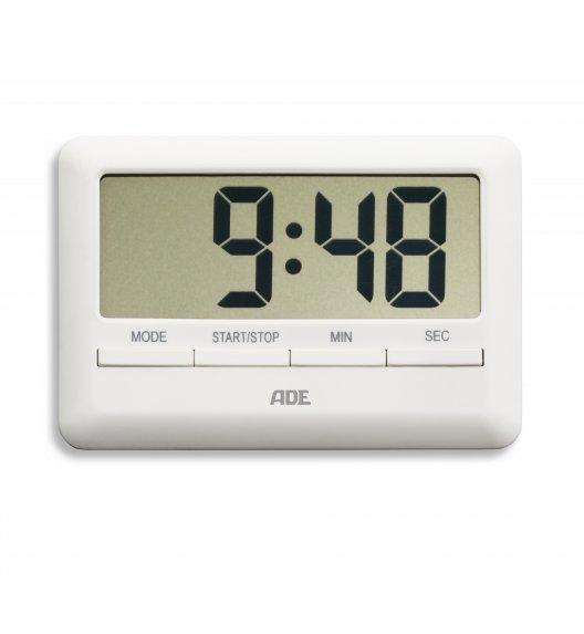 ADE Minutnik elektroniczny 10 x 7 x 1 cm / biały / FreeForm