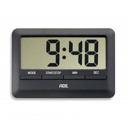 ADE Minutnik elektroniczny 10 x 7 x 1 cm / czarny / FreeForm