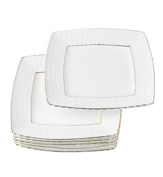 TADAR ETIUDA Komplet 6 Talerzy deserowych 19 cm / Porcelana