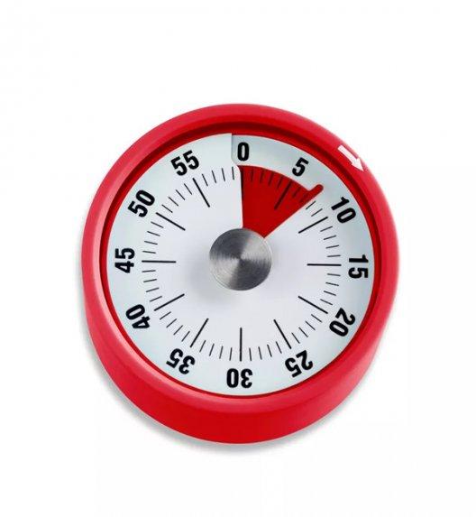 ADE Minutnik mechaniczny 6 x 3,5 cm z magnesem / czerwony / FreeForm