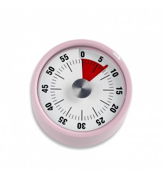 ADE Minutnik mechaniczny z magnesem ⌀ 6 x 3,5 cm / różowy / FreeForm
