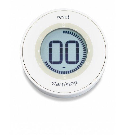 ADE Minutnik elektroniczny z magnesem ⌀ 6,5 x 2 cm / biały / FreeForm