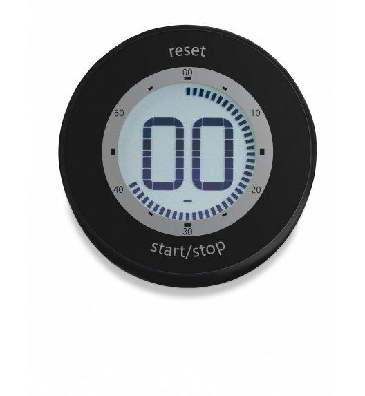 ADE Minutnik elektroniczny z magnesem ⌀ 6,5 x 2 cm / czarny / FreeForm