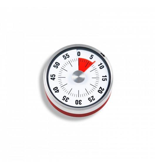 ADE Minutnik mechaniczny z magnesem ⌀ 8 x 3 cm / czerwony / FreeForm