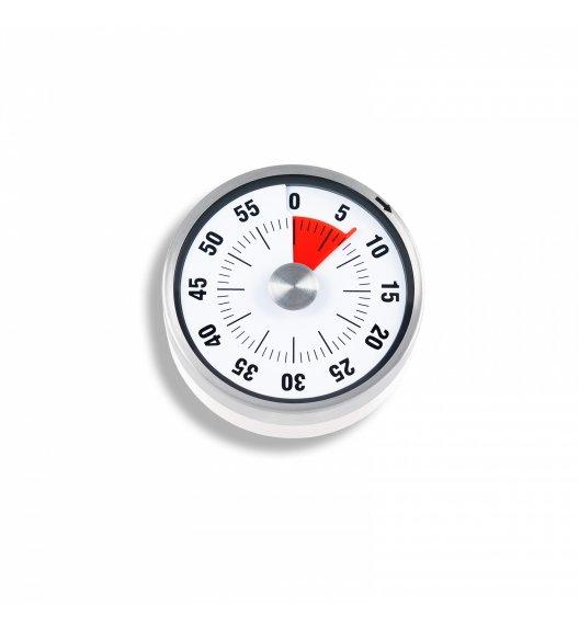 ADE Minutnik mechaniczny z magnesem ⌀ 8 x 3 cm / biały / FreeForm