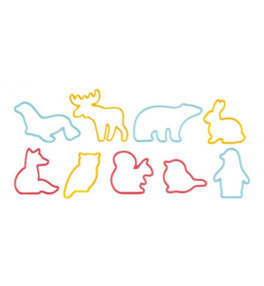 WYPRZEDAŻ! TESCOMA DELICIA KIDS Foremki zwierzątka do wykrawania 9 szt / 630929.00