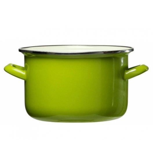 DOMOTTI VIGO Garnek emaliowany 3,6 l / 20 cm / zielony / indukcja / 65416