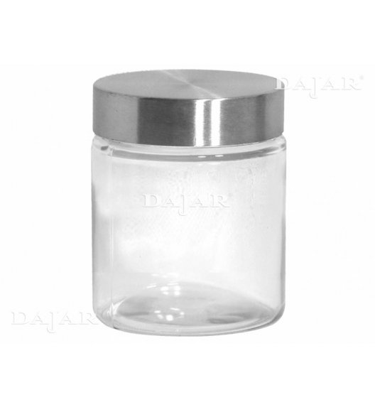 DOMOTTI ANABEL Pojemnik kuchenny z pokrywką 1100 ml / szkło / 37813