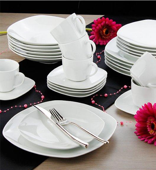 ARZBERG FINO Niemiecki serwis obiadowo-kawowy + Lubiana 34 el / 6 os / porcelana / GRATIS!
