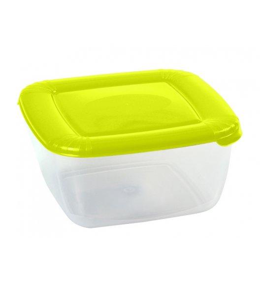 DOMOTTI ALBERT Kwadratowy pojemnik do żywności 0,95 l / limonkowy / 122702