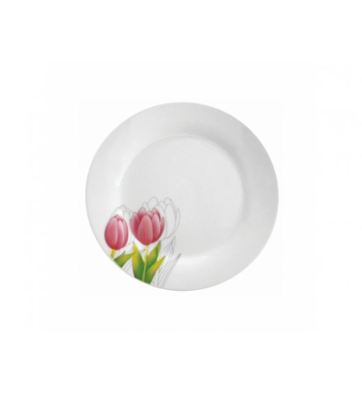 DOMOTTI TULIPAN Talerz deserowy 19 cm / porcelana / 63190