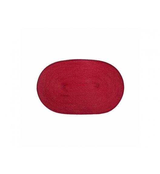 AMBITION FUSION FRESH Mata stołowa 30 x 45 cm / owalna / czerwona / 21266