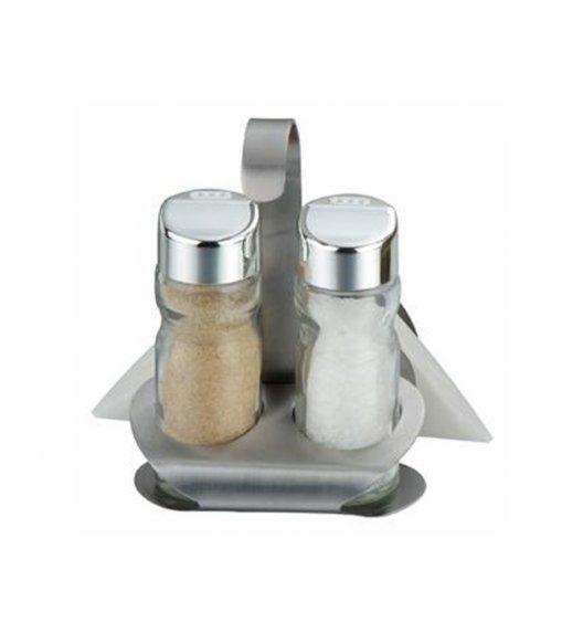AMBITION LINDI Komplet przyprawników do soli i pieprzu 3 el / szkło / 23962