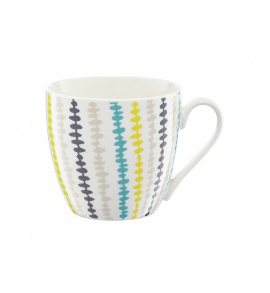 AMBITION NORDIC Kubek 510 ml / paski / porcelana / 63492