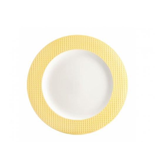 AMBITION NORDIC Talerz deserowy 21,5 cm / żółty / porcelana
