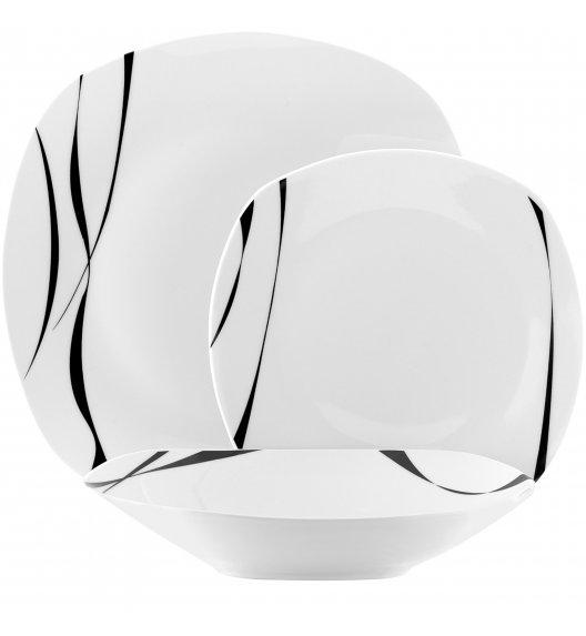 TADAR SAXO Serwis obiadowy 18 elementów dla 6 osób / porcelana