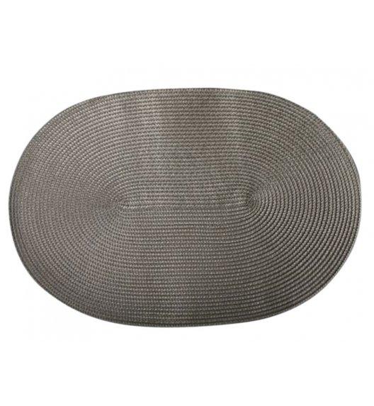 AMBITION FUSION FRESH Mata stołowa 30 x 45 cm / owalna / srebrna / 36476