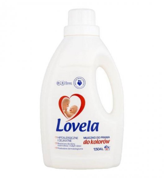 LOVELA Hipoalergiczne mleczko do prania koloru 1,5 L / 16 prań
