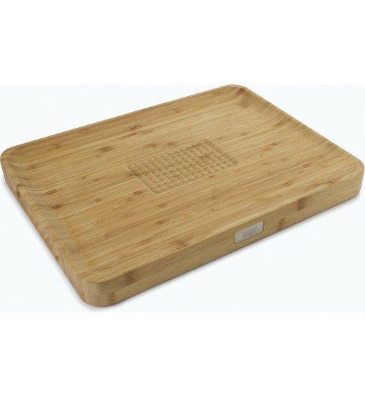 JOSEPH JOSEPH Cut&Carve Deska do krojenia 40 cm / drewno bambusowe