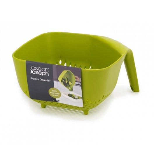 JOSEPH JOSEPH Kwadratowy durszlak z uchwytem / zielony / tworzywo sztuczne