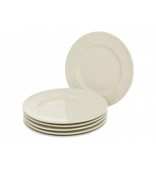 WYPRZEDAŻ! DUO CASSETTE Komplet talerzy deserowych 21,5 cm / 6 el / 6 os / porcelana