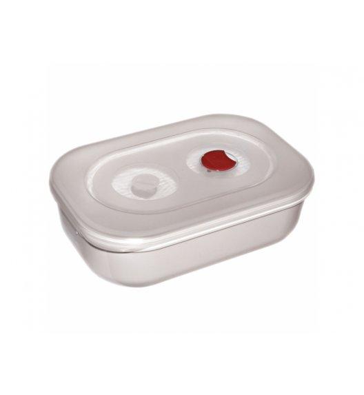 AMBITION SMART Pojemnik do kuchenki mikrofalowej 1,8 L / biało - czerwony / 699350