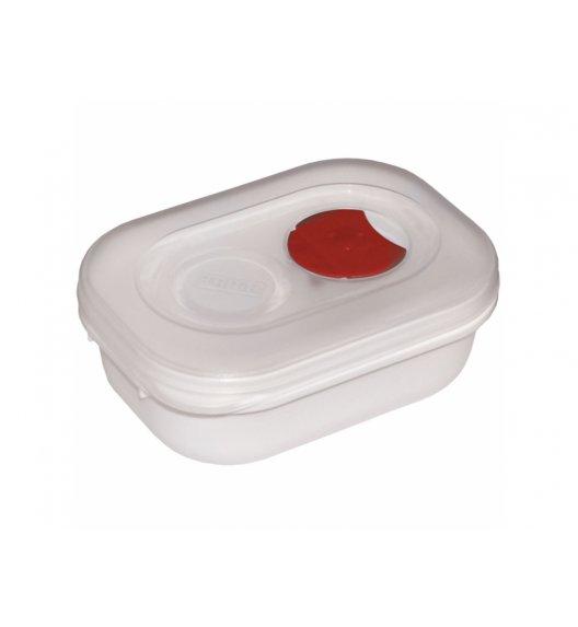 AMBITION SMART Garnek do kuchenki mikrofalowej 0,33 L / biało-czerwony / tworzywo sztuczne / 699367