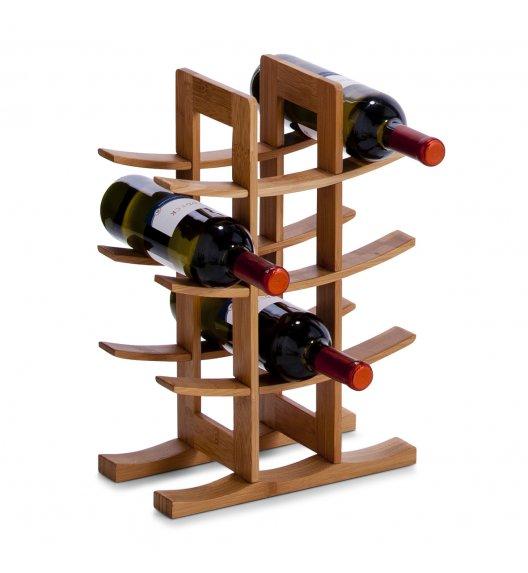 ZELLER Stojak / regał na wino 60x29x50 cm / drewno bambusowe