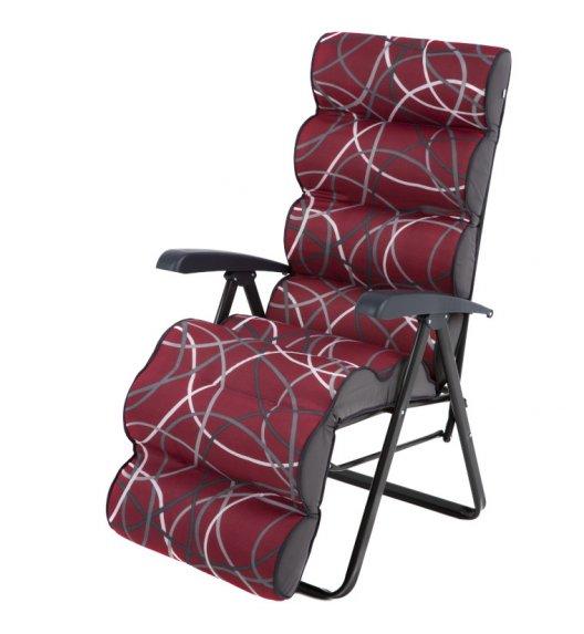 PATIO LEPE PLUS Fotel / krzesło ogrodowe z podnóżkiem / L102-06PB