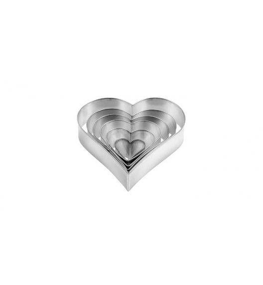 WYPRZEDAŻ! TESCOMA DELICIA Wykrawacz do ciastek w kształcie serca / 6 elementów