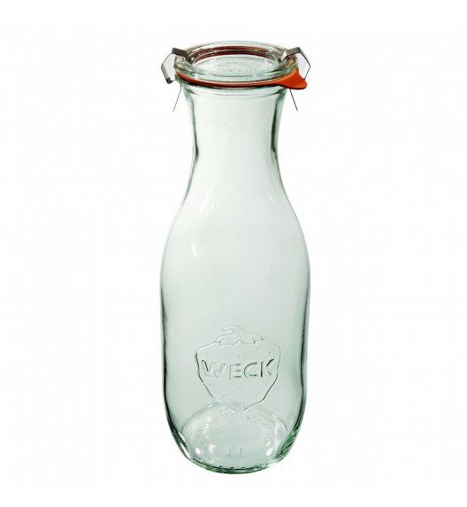 WECK Komplet 6 butelek z uszczelką i 2 zapinkami 1062 ml