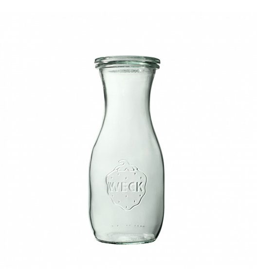 WECK Komplet 6 butelek bez pokrywki 530 ml
