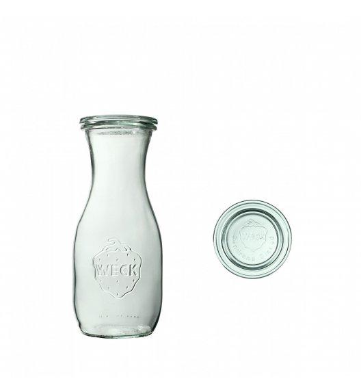 WECK Komplet 6 butelek z pokrywką 530 ml