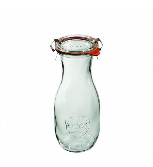 WECK Komplet 6 butelek z uszczelką i 2 zapinkami 290 ml