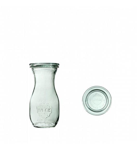 WECK Komplet 6 butelek z pokrywką 290 ml