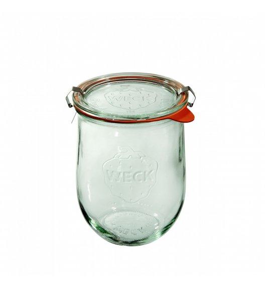 WECK TULIP Komplet 6 słoików na przetwory z uszczelką i 2 zapinkami 1062 ml