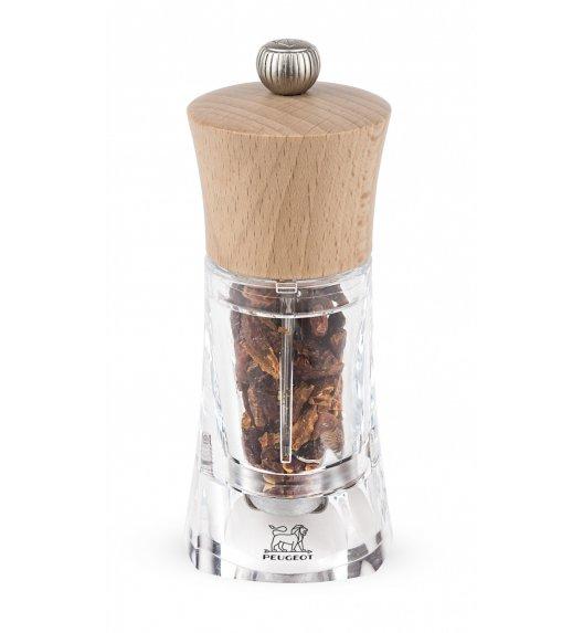 PEUGEOT OLERON Młynek do chilli 14 cm / naturalny / akryl + drewno
