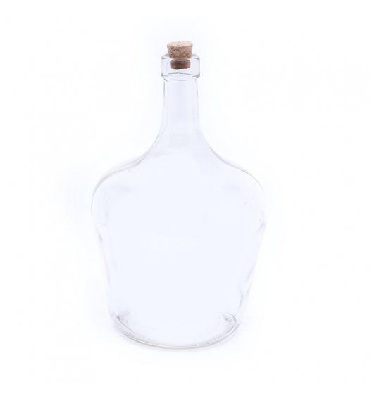 TADAR PEAR Butelka z korkiem na oliwę 2,0 l / transparentna / szkło