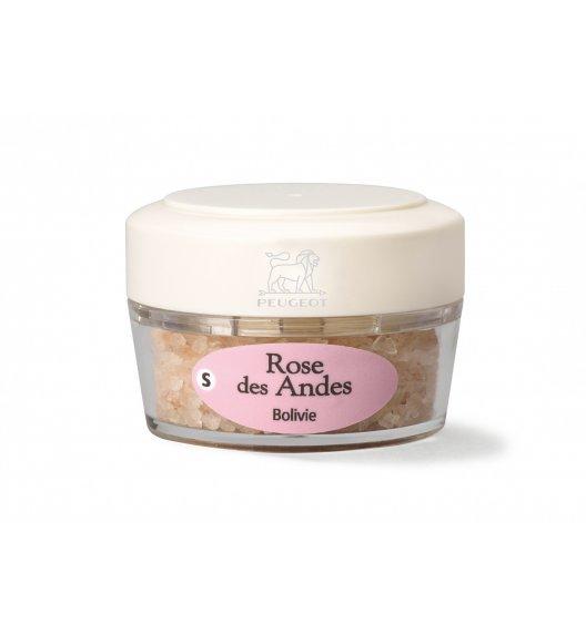PEUGEOT ROSE DES ANDES Sól z Boliwii w pojemniczku 38 g