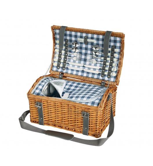 CILIO GARDA Kosz piknikowy dla 4 osób z wyposażeniem / wiklina