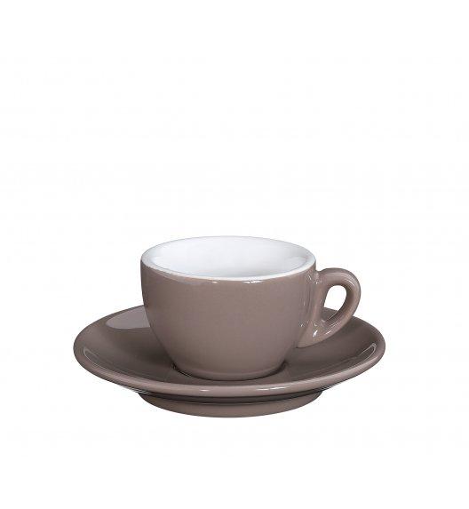 CILIO ROMA Filiżanka do espresso ze spodkiem 50 ml / beżowa / FreeForm