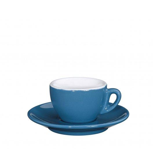 CILIO ROMA Filiżanka do espresso ze spodkiem 50 ml / niebieska / FreeForm